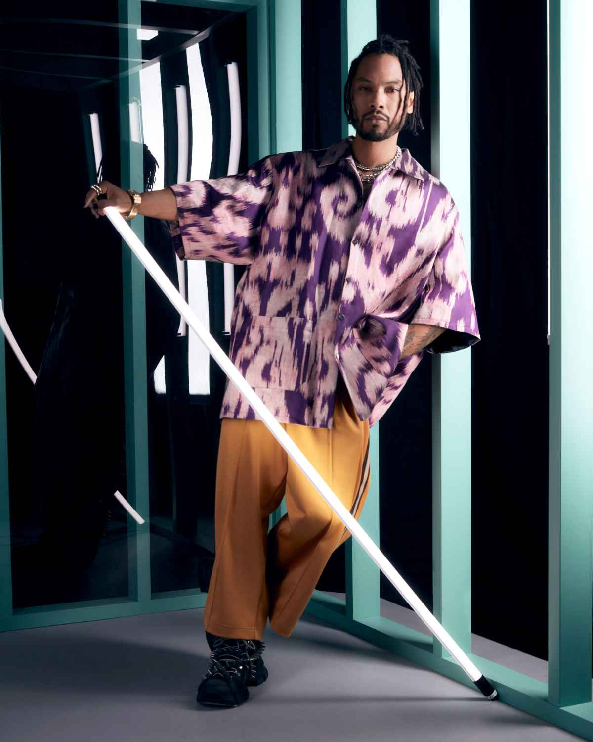 SELFRIDGES MIGUEL GUCCI SHOOT